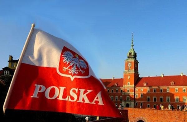 Виза в Польшу прапор