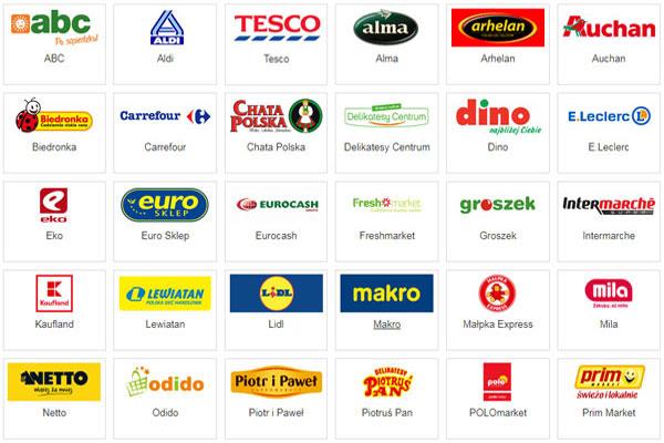 Продуктовые магазины в Польше