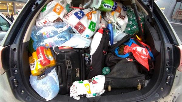 ввезення і вивезення товарів і речей в Польщу