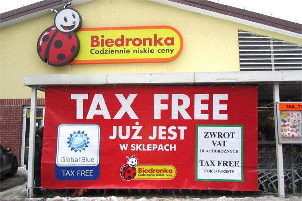 Tax-free biedronka